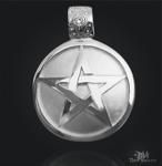 Pentagramm Drudenfuß kleine Ausführung aus Silber