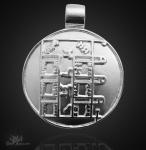 Mondamulett aus 925/000 Silber