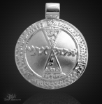Venusamulett aus 925/000 Silber