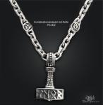 Thors Hammer, Mjölnir 925/000 Silber