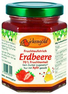 Birkengold Fruchtaufstrich Erdbeere