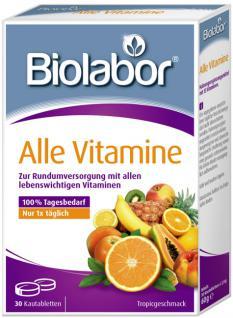 Biolabor Alle Vitamine Kautabletten