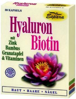 Espara Hyaluron Biotin Kapseln