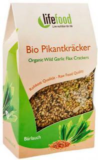 Lifefood Bio Pikantkräcker Bärlauch