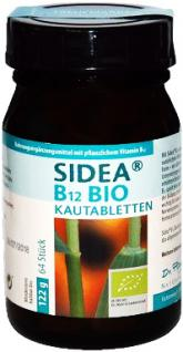 Dr. Pandalis Sidea B12 Bio vegan Kautabletten