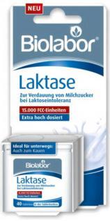Biolabor Laktase 15.000 FCC Tabletten