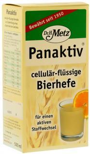 Dr. Metz Panaktiv cellulär flüssige Bierhefe