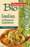 Rinatura Bio CousCous mit Rosinen