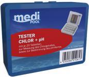 mediPOOL Chlor + pH Tester