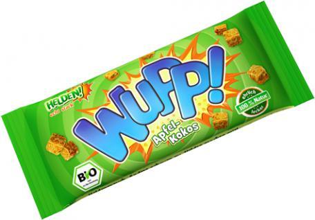 HELDEN! Snacks WUPP! Bio Apfel-Kokos