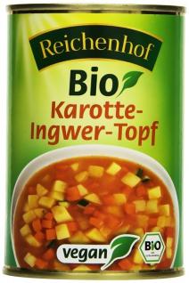 Reichenhof Bio Karotten Ingwer Topf