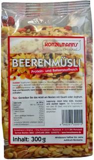 Konzelmanns Low Carb Beeren Müsli