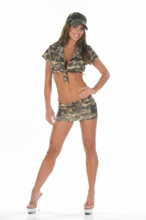 Sexy Army Rock Set Mia