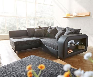 ecksofa mit hocker g nstig online kaufen bei yatego. Black Bedroom Furniture Sets. Home Design Ideas