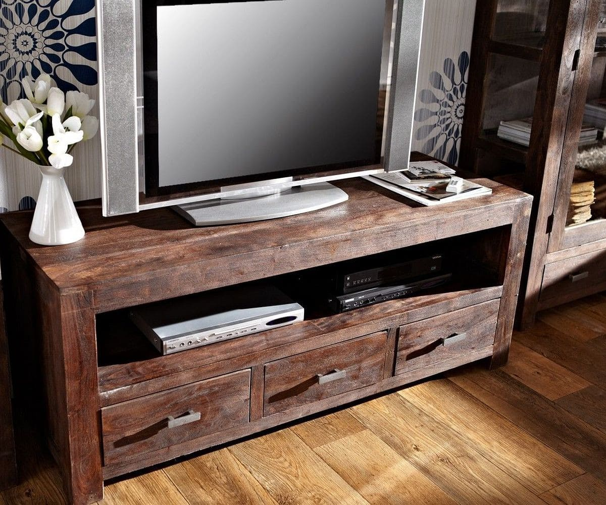 fernsehtisch guru akazie tabak 150 cm 3 sch be lowboard by wolf kaufen bei delife gmbh. Black Bedroom Furniture Sets. Home Design Ideas