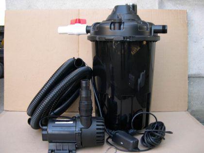 Resun Set Druckfilter + 24W UVC + Pumpe 18000 L/H