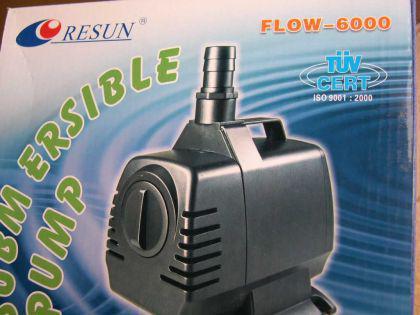Resun Flow 6000 Teichfilterpumpe Bachlaufpumpe - Vorschau