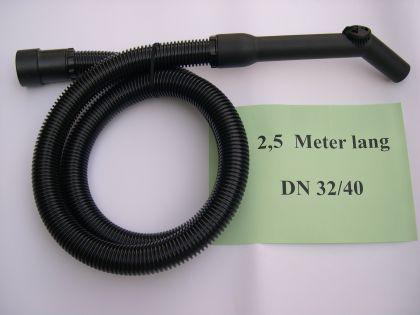 2,5m Saugschlauch Set 3tg 40mm Kärcher T111 T151 T201 NT 301 Sauger - Vorschau