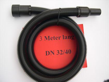 3m Saugschlauch 3tlg m. Muffen DN40 Lidl Parkside NT Sauger