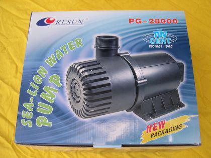 Resun PG 28000 l/h Filterspeisepumpe Teichfilterpumpe Bachlaufpumpe Filterpumpe für Teichfilter
