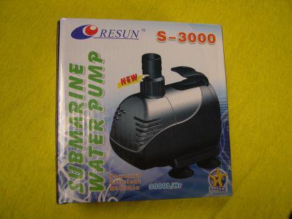 Resun S-3000 Teichfilterpumpe Filterspeisepumpe Bachlaufpumpe Wasserfallpumpe Strömungspumpe f. Teichfilter - Vorschau 1
