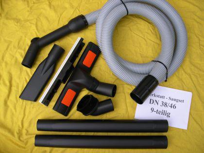 Werkstatt - Saugset 9-tg DN38 Stihl SE50 SE60 SE80 SE90 SE200 SE201 SE202 C Sauger Industriesauger Staubsauger - Vorschau 1
