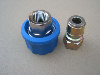 """Ergo Schnellkupplung 2tl 3/8"""" f. Nilfisk Alto Neptune 3-22 3-26 3-33 3-41 4-42 4-49 X u. KEW Hochdruckreiniger - Vorschau 3"""