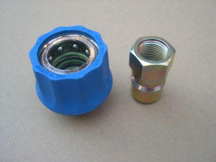 """Ergo Schnellkupplung 2tl 3/8"""" f. Nilfisk Alto Neptune 3-22 3-26 3-33 3-41 4-42 4-49 X u. KEW Hochdruckreiniger - Vorschau 1"""