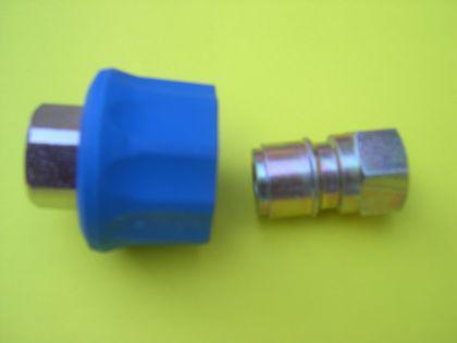 """Ergo Schnellkupplung 2tl 3/8"""" f. Nilfisk Alto Neptune 3-22 3-26 3-33 3-41 4-42 4-49 X u. KEW Hochdruckreiniger - Vorschau 2"""