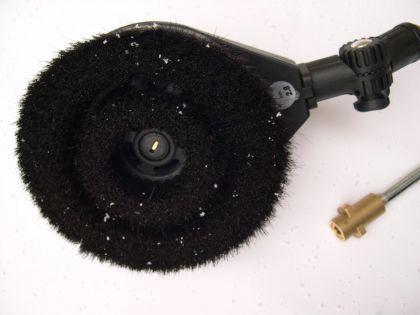 rotierende Waschbürste drehend Autowaschbürste Bajonett Anschluß Kärcher Hochdruckreiniger
