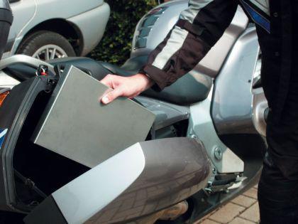 Motorrad - Klappgrill Edelstahl Holzkohlegrill V2A - Vorschau 2