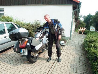 Motorrad - Klappgrill Edelstahl Holzkohlegrill V2A - Vorschau 1