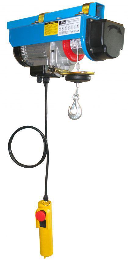 elektrischer profi seilzug 400 kg 230v hebezug kran. Black Bedroom Furniture Sets. Home Design Ideas