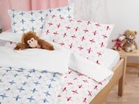 Oeko Kinderbettwaesche aus Baumwollsatin