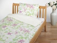 Bettwäsche aus kbA Baumwolle Satin