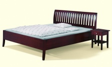 Natur Bett Massivholz