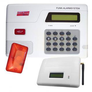 SAZ-2500 Funk Alarmanlagen mit GSM-Modul