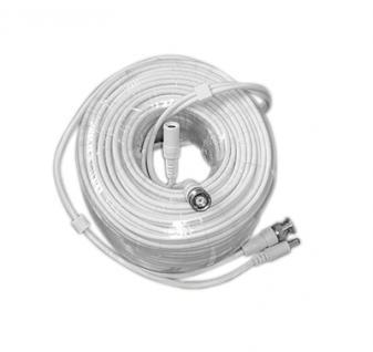 30 Meter HD-Kombikabel weiß