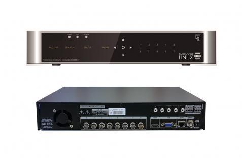E-8008 8 Kanal FULL-HD Hybrid Aufnahmegerät