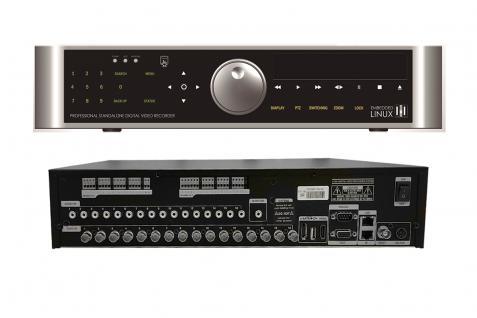 E-8016 16 Kanal FULL-HD Hybrid Aufnahmegerät