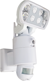 LED32SD WIFI LED Flutlicht mit Bewegungsmelder und Kamera