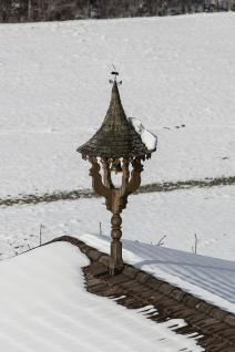 Glockenturm/Glockenstuhl GL9 in Fichten- und Lärchenholz handgefertigt