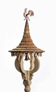 Glockenturm/Glockenstuhl GL7 in Fichten- und Lärchenholz handgefertigt