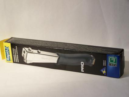 Hammertacker Rapid R311 ....METALL.... für Klammern Typ140/11/G 6-10mm