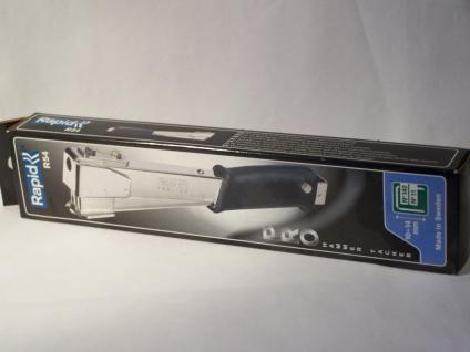 Hammertacker Rapid R54 ....METALL.... für Klammern Typ140/11/G 10-14mm - Vorschau