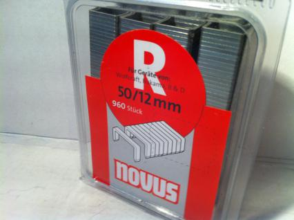 Black& Decker Tackerklammern 12mm 960 Stück - Vorschau
