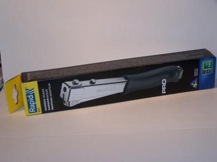 Hammertacker Rapid R11 ....METALL.... für Klammern Typ140/11/G 6-10mm