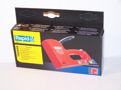 Handtacker Rapid R53 für Klammern Typ 53/530 von 4-10mm