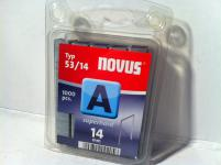 Tackerklammern Typ 53/530 14mm 1000 Stück von NOVUS