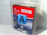 V2A Tackerklammern Typ 53/530 10mm 1000 Stück von NOVUS